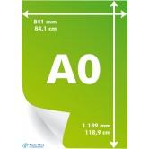 Paper Sheets - 80 G/M2 - A0 - 1189x841 - 125 vel