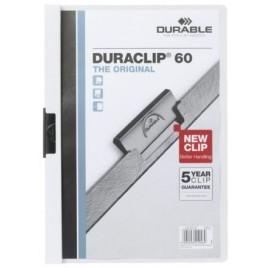 Klemmap Durable 2209 A4 6mm wit
