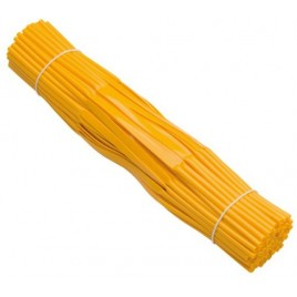 Bundelmechaniek Jalemaclip compleet geel zelfklevend 100 st