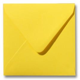 Envelop Roma 16 x 16 cm - 50 stuks - Kanariegeel