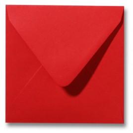 Envelop Roma 16 x 16 cm - 50 stuks - Koraalrood