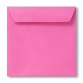 Envelop Roma 22 x 22 cm - 50 stuks - Donkerrose