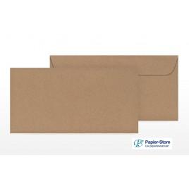 Classic akte-envelop - 160 x 240 mm - bruin kraft - Gegomd gesloten klep