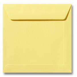 Envelop Roma 19 x 19 cm - 50 stuks - Zachtgeel