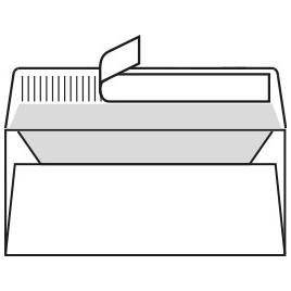 Enveloppen Fuego Matt - Wit - 110x220 - 120 G/M2 - 100 stuks