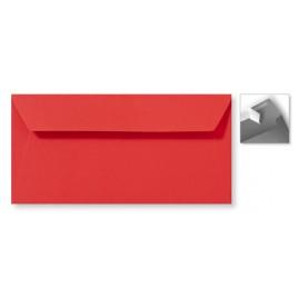 Envelop Striplock 11 x 22 cm - Appelgroen - 120 GM - Rechte klep - Striplock