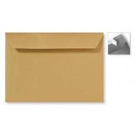 Envelop Striplock 15,6 x 22 cm - Metallic gold rush - 120 GM - Rechte klep - Striplock