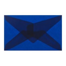 Transparant Licht blauw 6,2 x 9,8 cm - GEGOMD