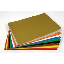 Etalagekarton - citroengeel - 340g/m2 - 680x480 mm - 25 Sheets