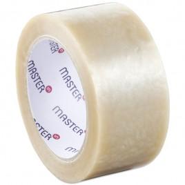 PP Tape met acryllijm, Low noise, Transparant 50mm x 66 meter 28my