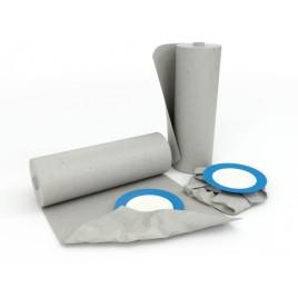 Opvulpapier, gerecycleerd, grijs, 28g/m2, 650mmx1000mm, pak van 750 vellen