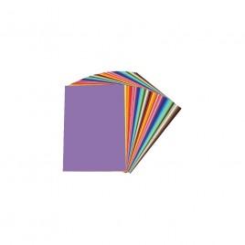 Tekenpapier - 105 GM -240x320 mm - 500 vel - 10 Kleuren a 50 vel