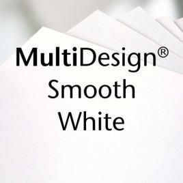 MultiDesign Smooth white - 46x64 - 100 GM - 500 vel