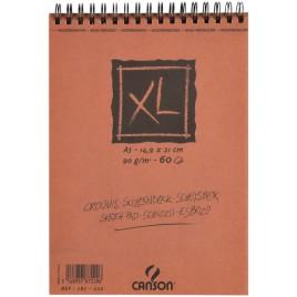 SCHETSBLOK CANONS XL KRAFT A4 SPIRAAL 60V 90GR