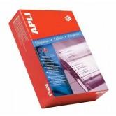Apli etiketten op kettingpapier 1 rij ft 88,9 x 23,3 mm (b x h)