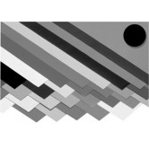 Karton - Zwart - 270 G/M2 - A2 - 594x420 - 100 vel
