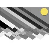 Karton - Citroengeel - 270 G/M2 - A2 - 594x420 - 100 vel