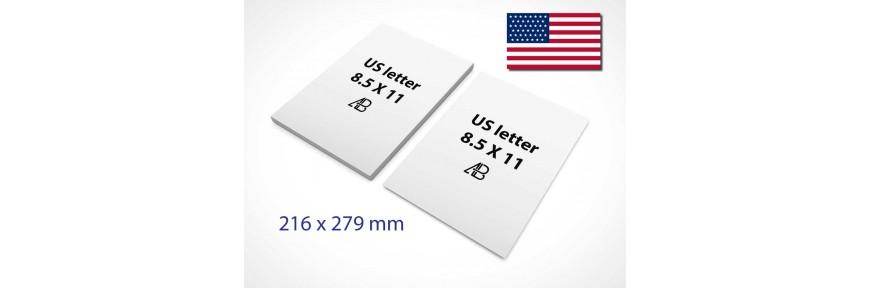 US Letter Papier (216x279)